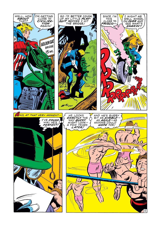 Captain America (1968) Issue #131 #45 - English 6