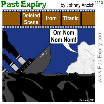 [CARTOON] Titanic Deleted Movie Scene. movie, spoof, crash