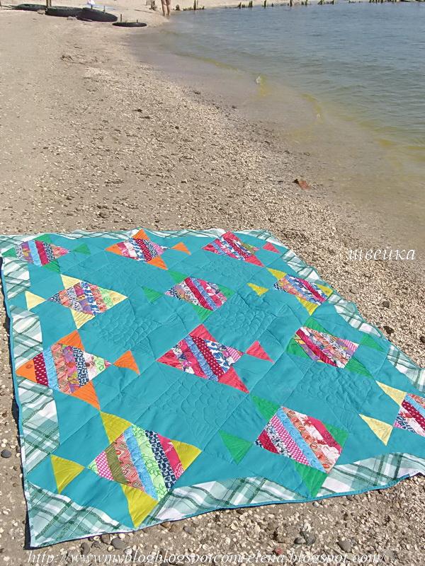 Сумка покрывало для пляжа своими руками