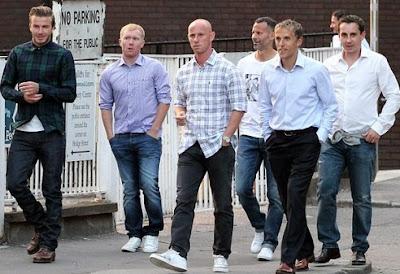 Thế hệ vàng 92 của Man Utd bất ngờ tái hợp