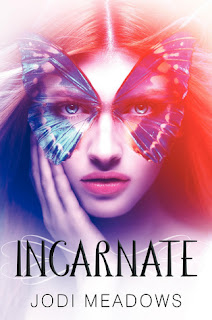 book cover of Incarnate by Jodi Meadows
