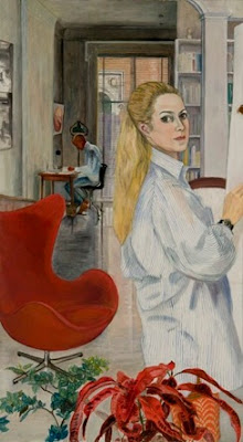Sylvia Sleigh - Working at Home, 1969