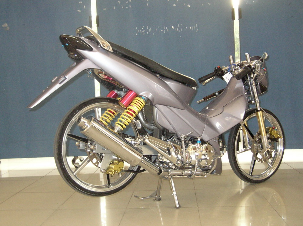 Modifikasi MotorSupra X