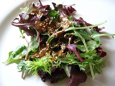 Creamy Sesame Miso Salad Dressing