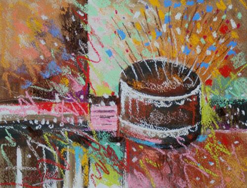 Carol Engles Art Chocolate Birthday Cake Four