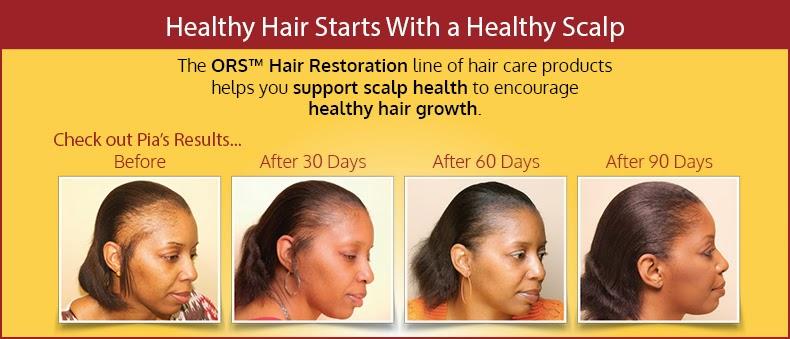 ORS Hair restauration / sistema de restauración capilar