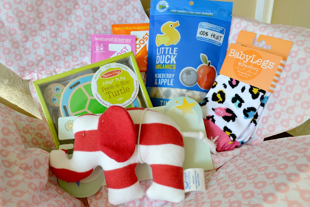 baby subscription service, Stork Stack, Stork Stack February, Stork Stack March, stork stack review, Stork Stack april, Little Duck Organics, Under the nile, peek a boo turtle