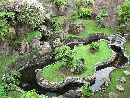desain taman rumah minimalis 7
