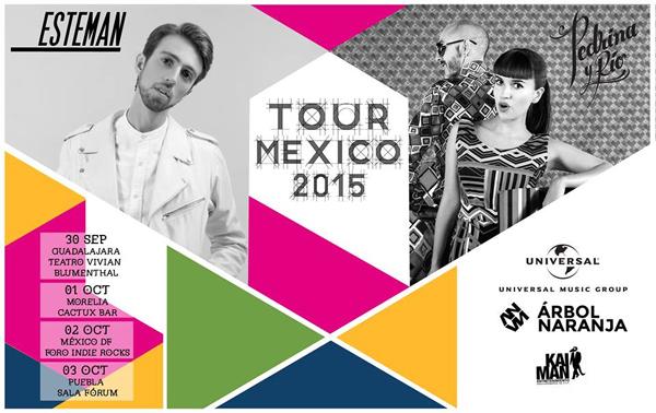 Agendate-Tour-Mexico-2015-Esteman-Pedrina-y-Rio