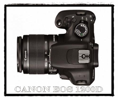 Harga dan Spesifikasi DSLR Canon EOS 1200D