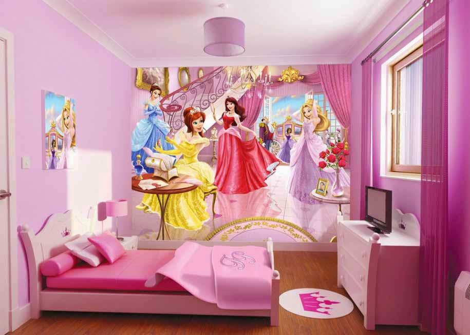 Desain kamar tidur anak remaja putri