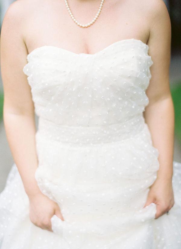 Swiss dot wedding fashion - Em for Marvelous -