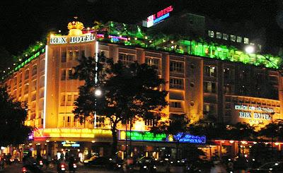 (Vietnam) - Ho Chi Minh (Saigon)- Rex Hotel