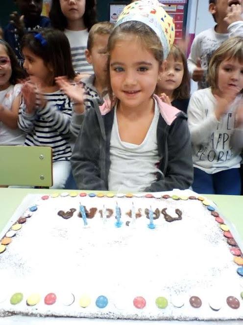 Na Mariona ja té 5 anys!!