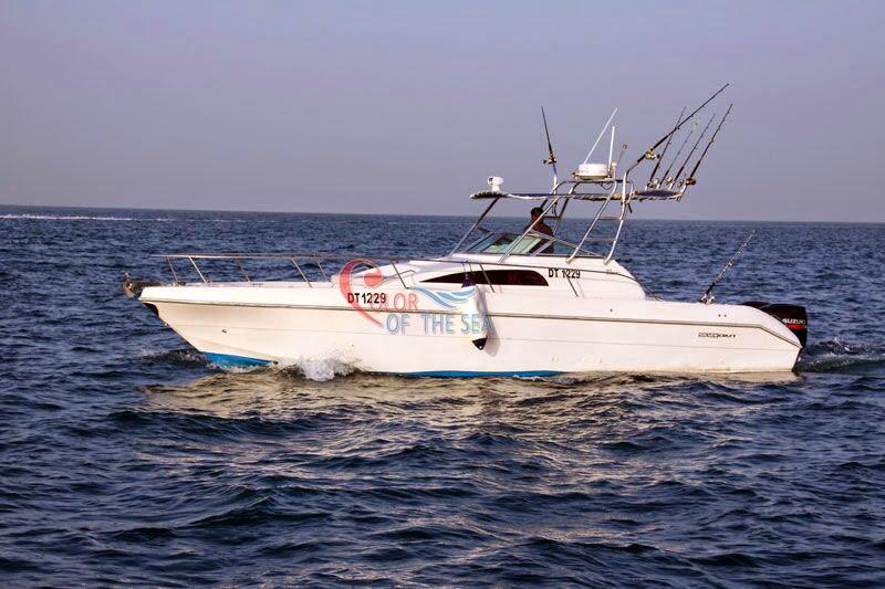 رحلات صيد ممتعة في دبي