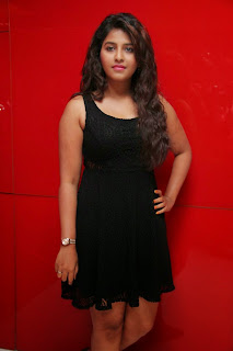 Actress Anjali Latest  Pictures in Short Dress at Kayal Movie Audio Launch  21.jpg