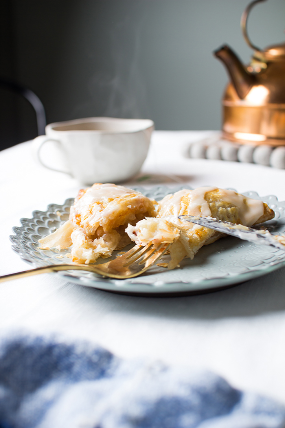 Apple turnovers recipe via Flourishing Foodie