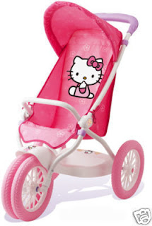 Hello Kitty baby pram buggy stroller pushchair