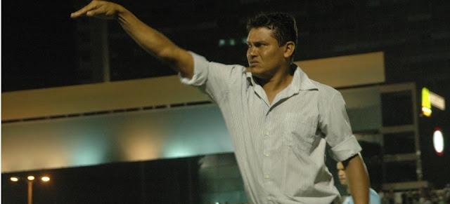 Sonora de Humberto Santos após a vitória contra o Íbis