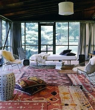 kilim layering rugs, rugs in the living room, living room rug, bright room rug, rug happy, living room layered rug