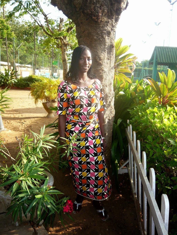 Cotonou et nous et nous et nous: Les pagnes de Julie
