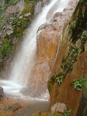 Lit de la cascade, 1ère chute