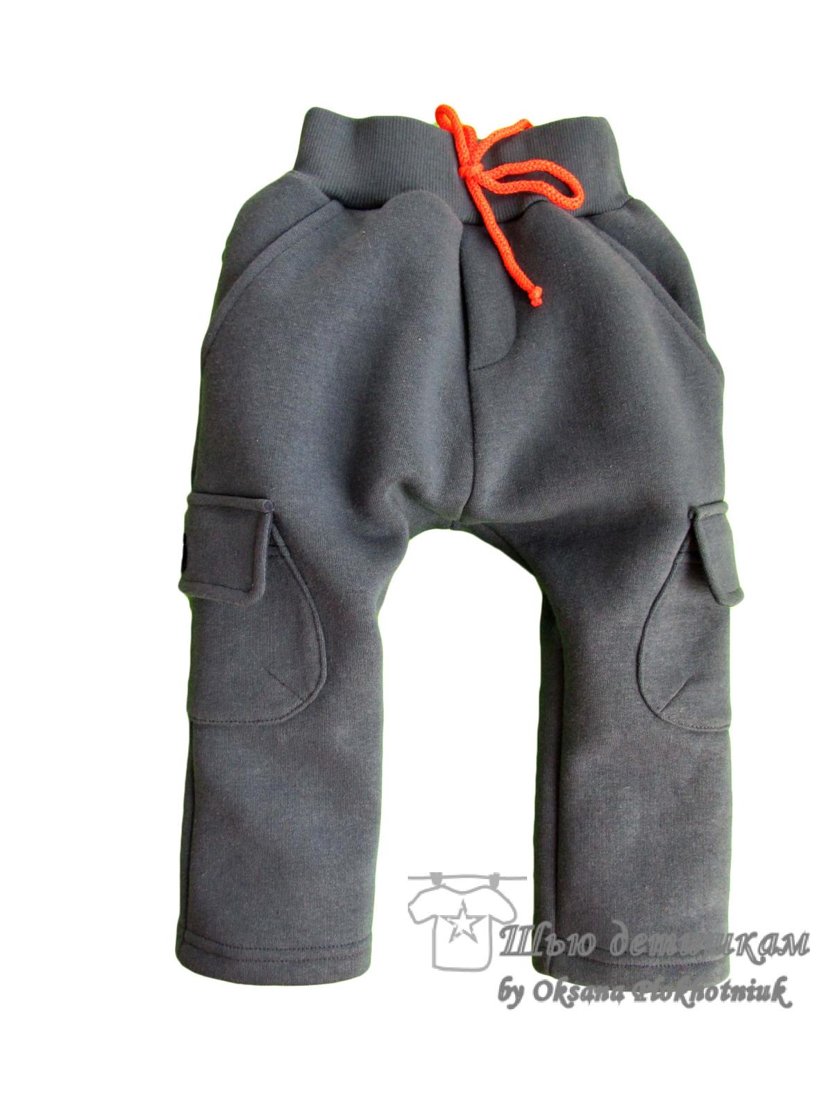 Детские штаны с мотней сшить 47