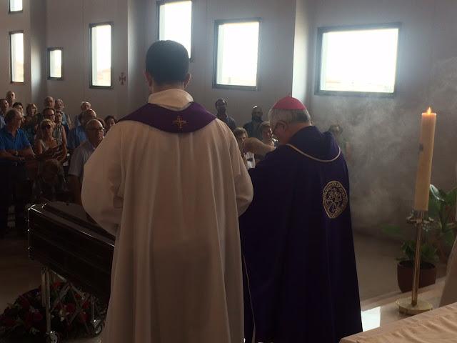 El obispo Mons Jesús Murgui en un momento de la celebración
