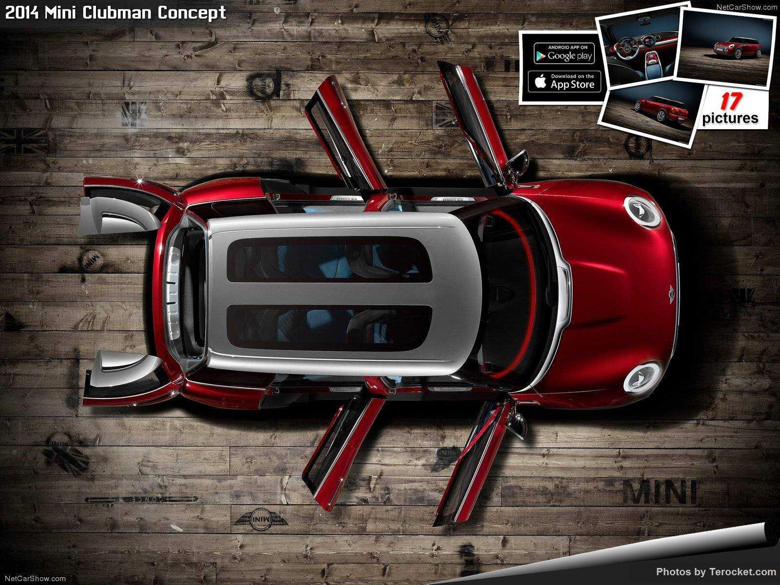 Hình ảnh xe ô tô Mini Clubman Concept 2014 & nội ngoại thất
