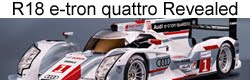 Audi R18 e-tron quattro and R18 ultra officially revealed