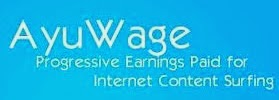 Ayuwage is another high paying PTC Sites, You can get a lot of ads paying 0.015 cents and a few even paying 0.025 cents, get money, extra income, get paid to clicks and view ads.