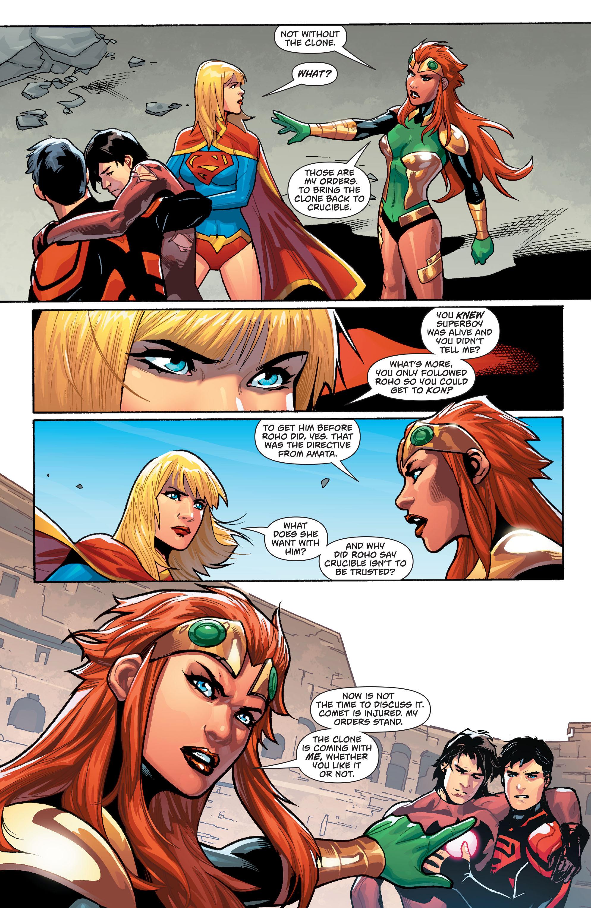 Supergirl (2011) Issue #38 #40 - English 19