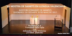 19.05.17 MOSTRA DE TEATRE EN LLENGUA VALENCIANA (XII) PEL GRUP GENT DE MANISES·AMICS DEL PATRONATO