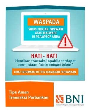 Solusi Lupa User ID dan Password Internet Banking BNI