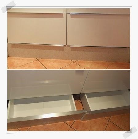 m s espacio para guardar en la cocina con los cajones