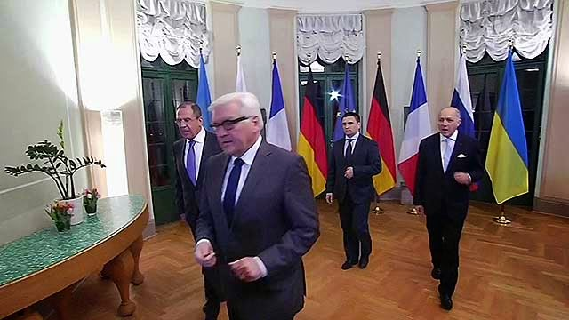 """""""Normandy four"""" attempted to rescue the talks in Minsk"""