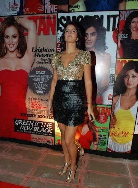 Katrina Kaif At Cosmopolitan Awards Pics