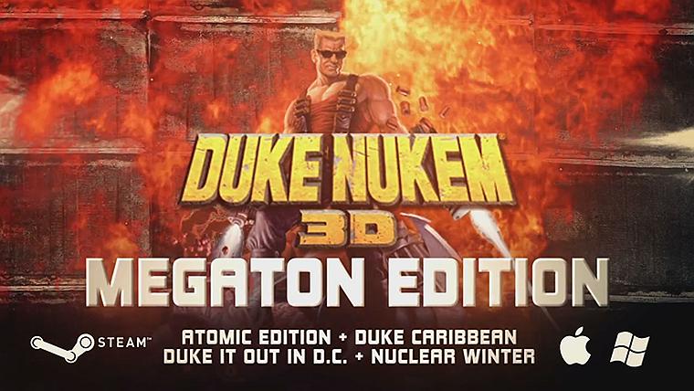 Duke Nukem 3D: Megaton Edition Gets Cross Platform Multiplayer - weknowgamers