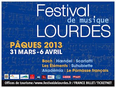 Festival de musique 2013 de Lourdes