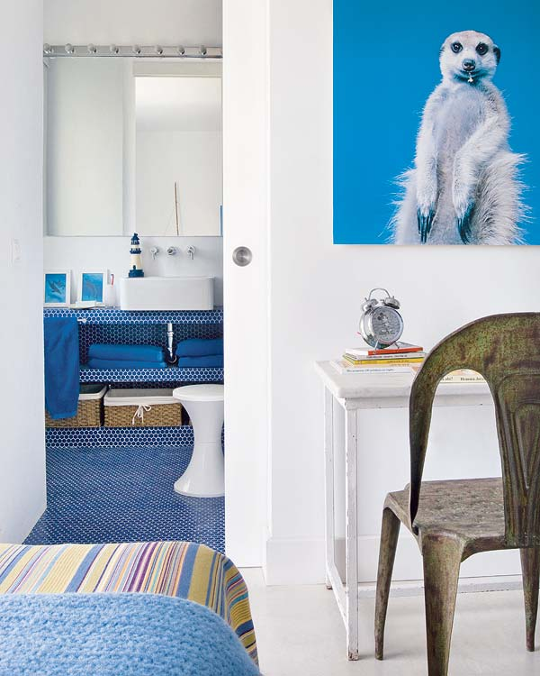 Baño Para Dormitorio:Muebles y Decoración de Interiores: Un dormitorio juvenil con aire
