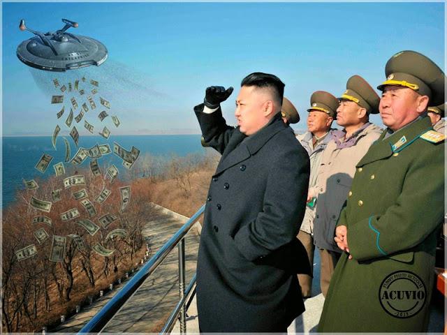 Funny - Kim Jong-un Finanţarea Proiecte Coreea Nord