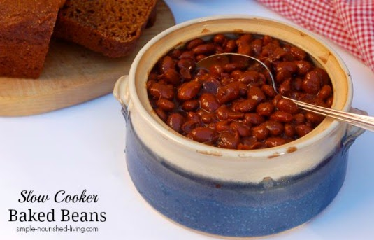 ... Slow Cooker Baked Beans from Food Bloggers | Slow Cooker from Scratch