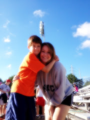 Michael and Mom at soccer