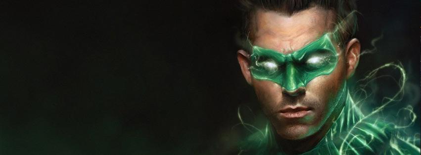 Lanterna - Verde capa para facebook