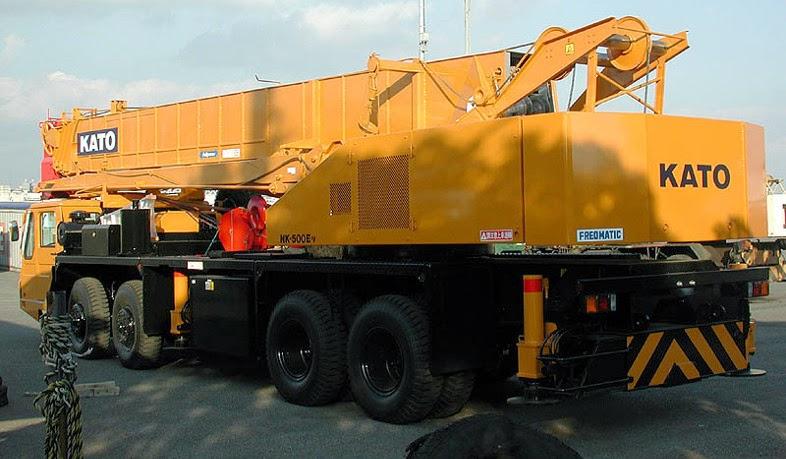 Kato 70t Rough Terrain Crane Load Chart : Kato nk e v hydraulic truck crane ton cranepedia