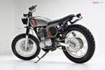 Foto Motor Yamaha SR400 Modifikasi 2014 Custom Terbaru
