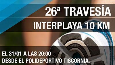 10k Travesía Interplayas desde Fray Bentos a Las Cañas (CAU, Río Negro, 31/ene/2015)