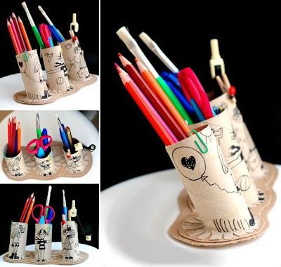 Как сделать для карандашей своими руками