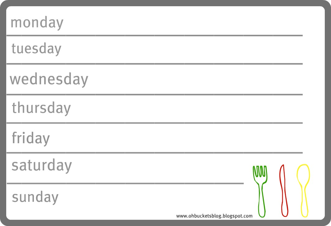 "Search Results for ""Weekly Meal Planning Template"" – Calendar ..."