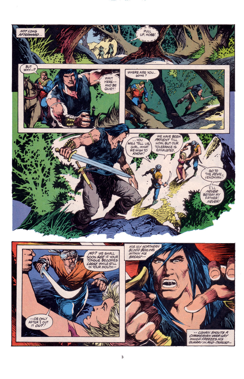 Conan the Barbarian (1970) Issue #261 #273 - English 4